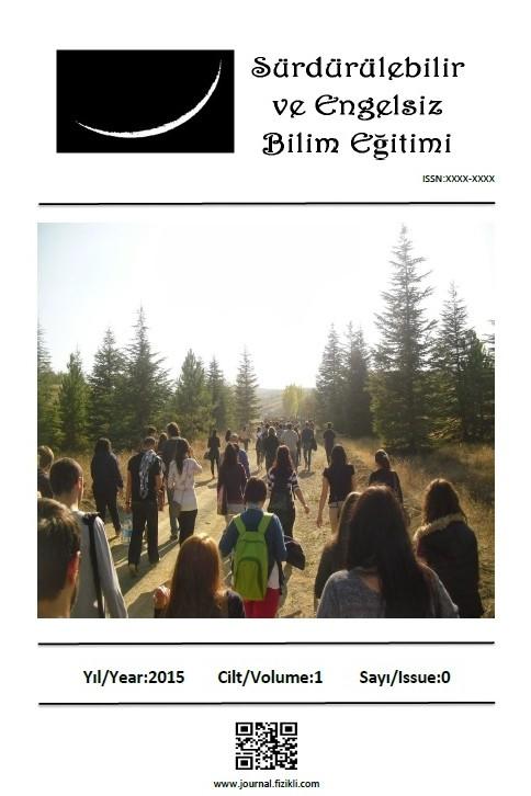 Sürdürülebilir ve Engelsiz Bilim Eğitimi Dergisi